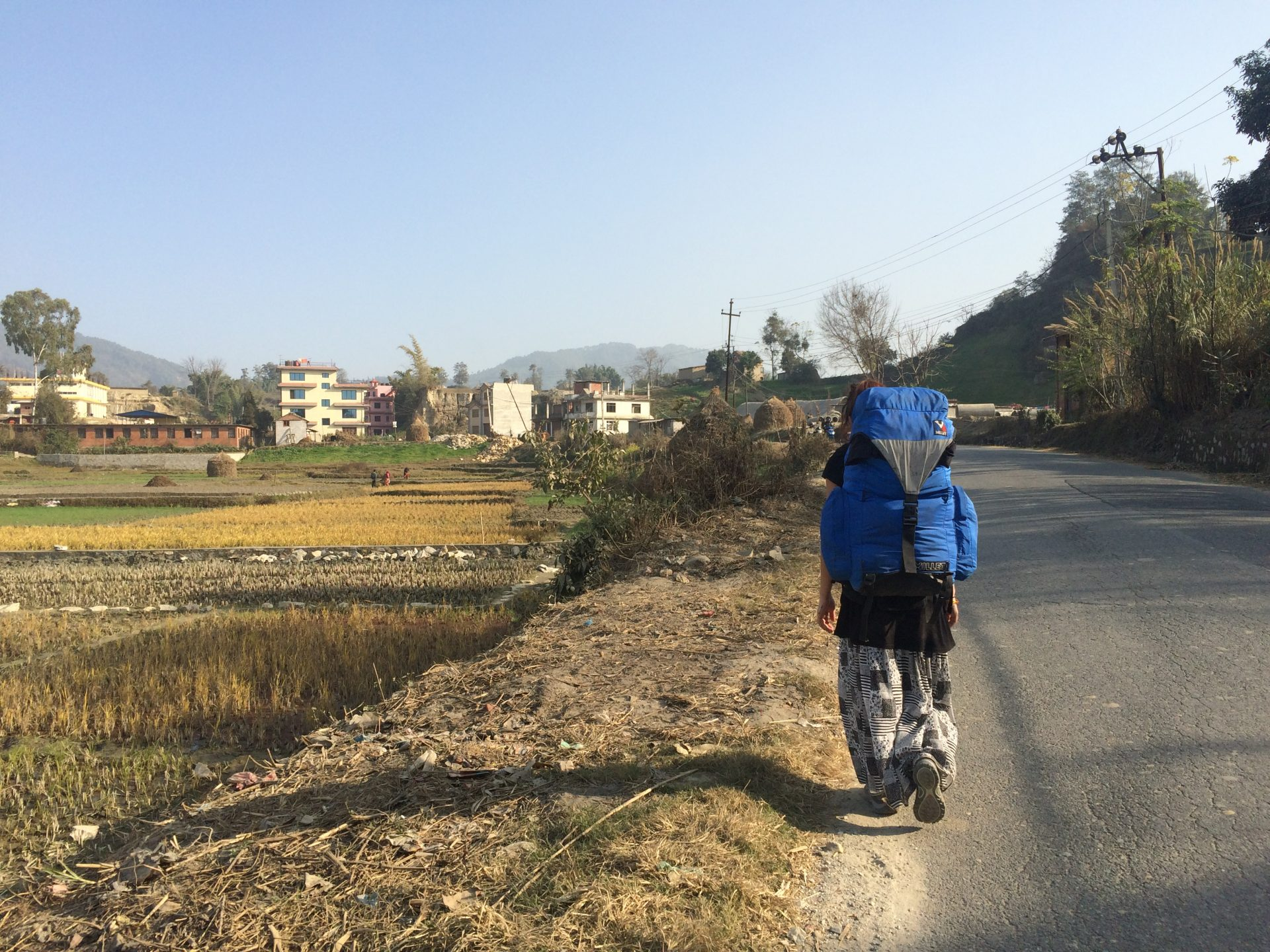 Sur les routes du Népal