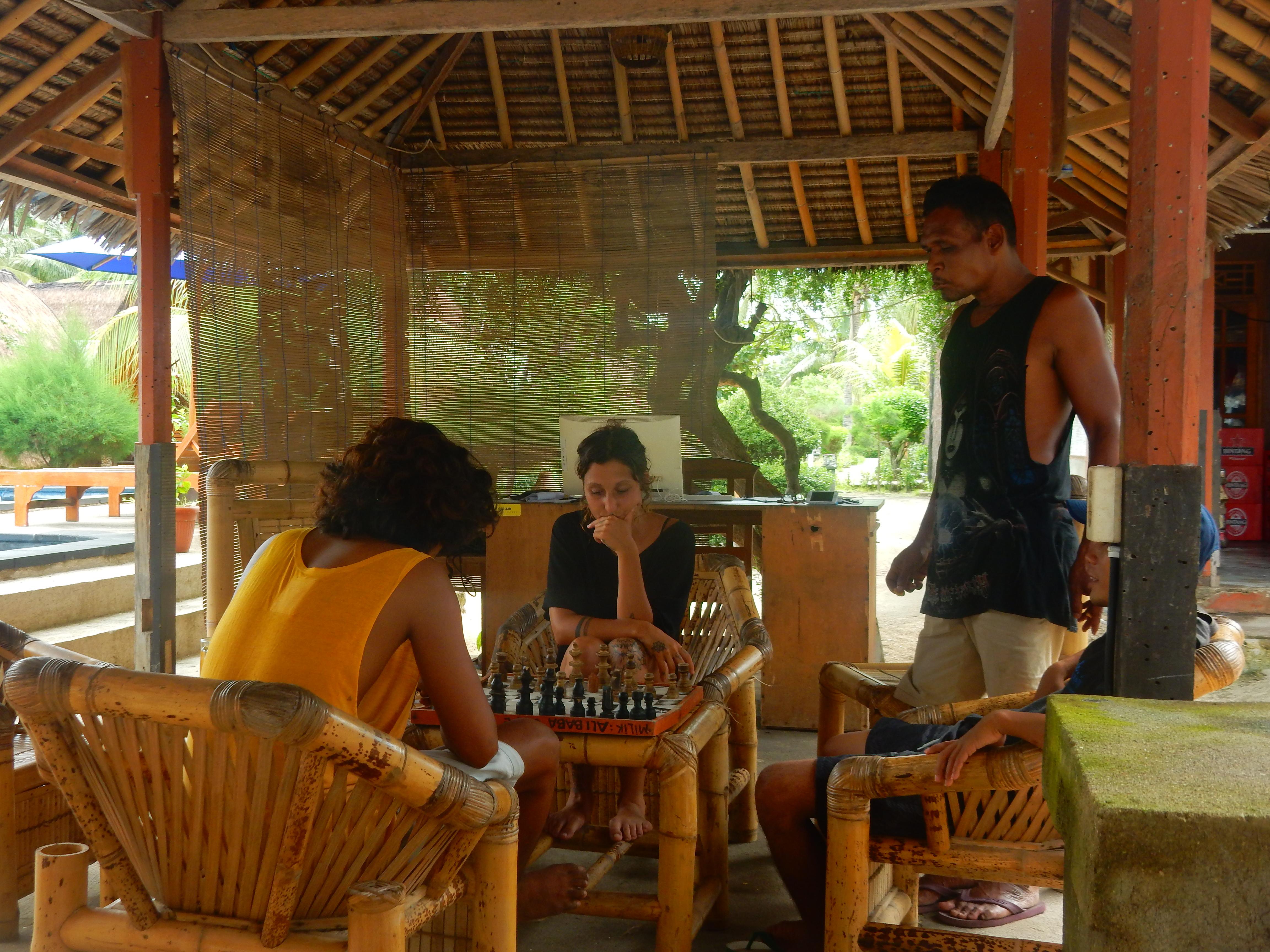 Sandys' Bar Gili Air, Indonésie
