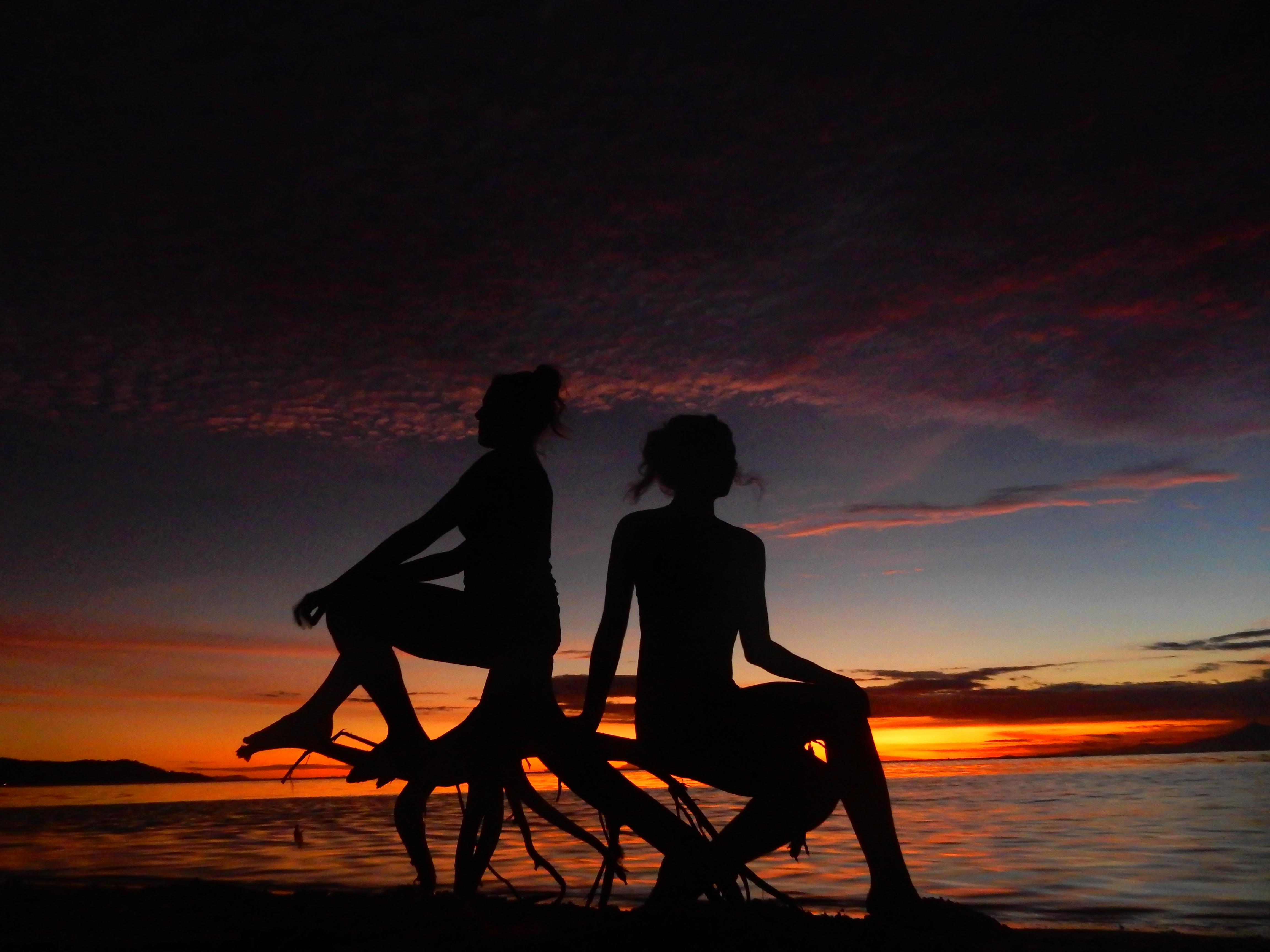Coucher de soleil, Sunset, Gili Air, Indonésie