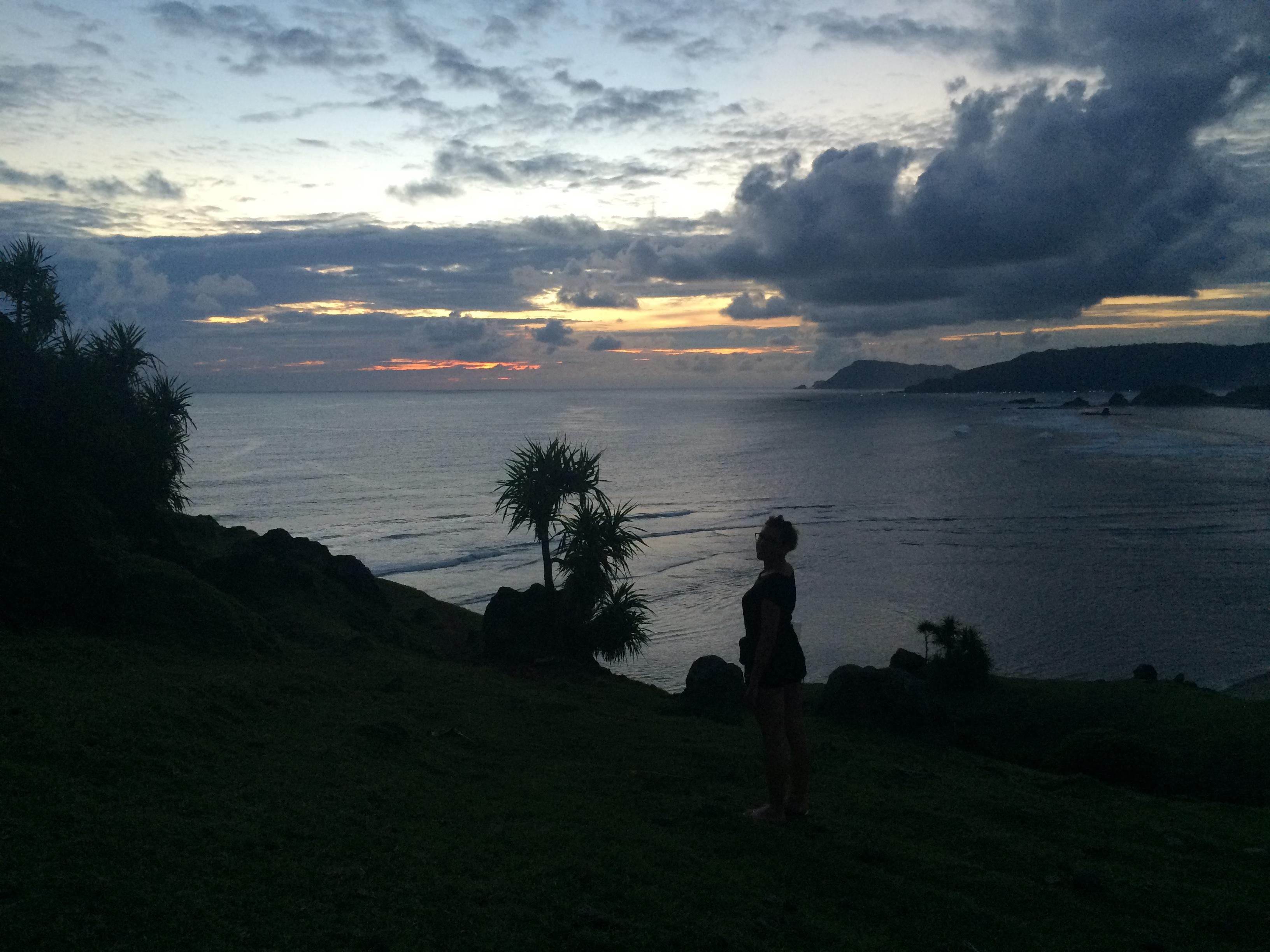 Coucher de soleil,sunset, TAJUNGANN, Lombok, Indonésie