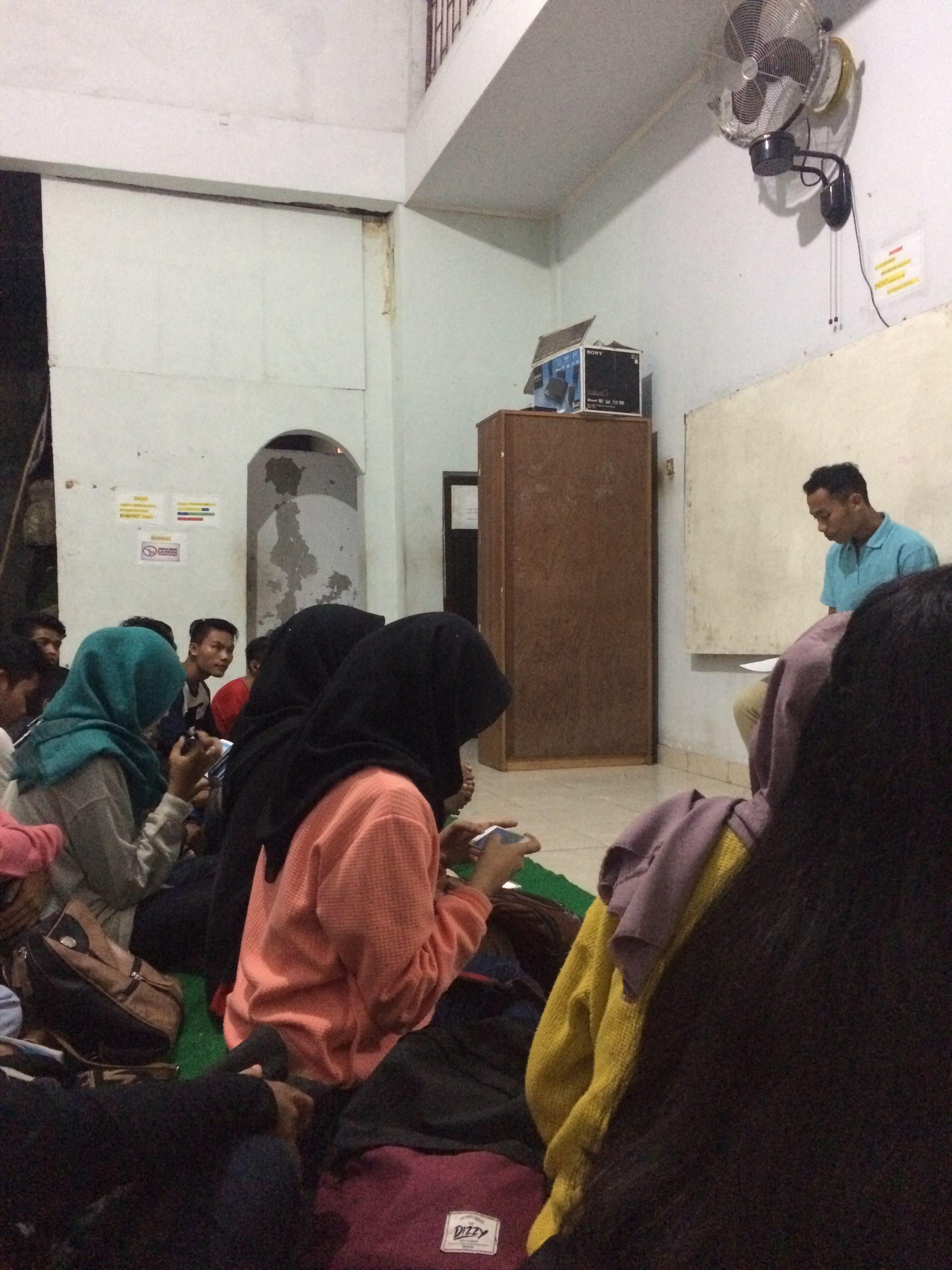 Ecole d'anglais, English Cake, Mataram Lombok.