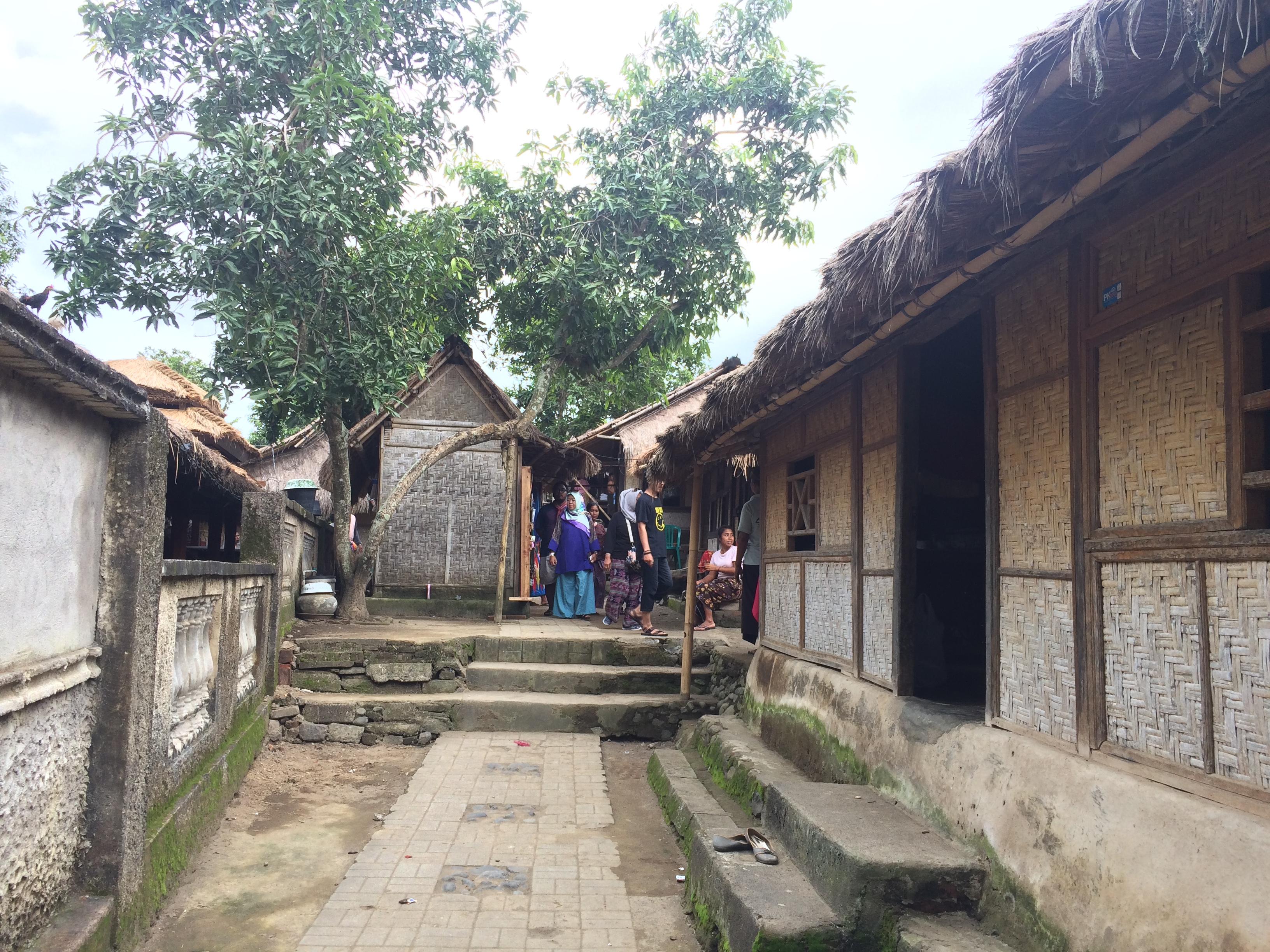 Village de Sade Lombok, Indonésie