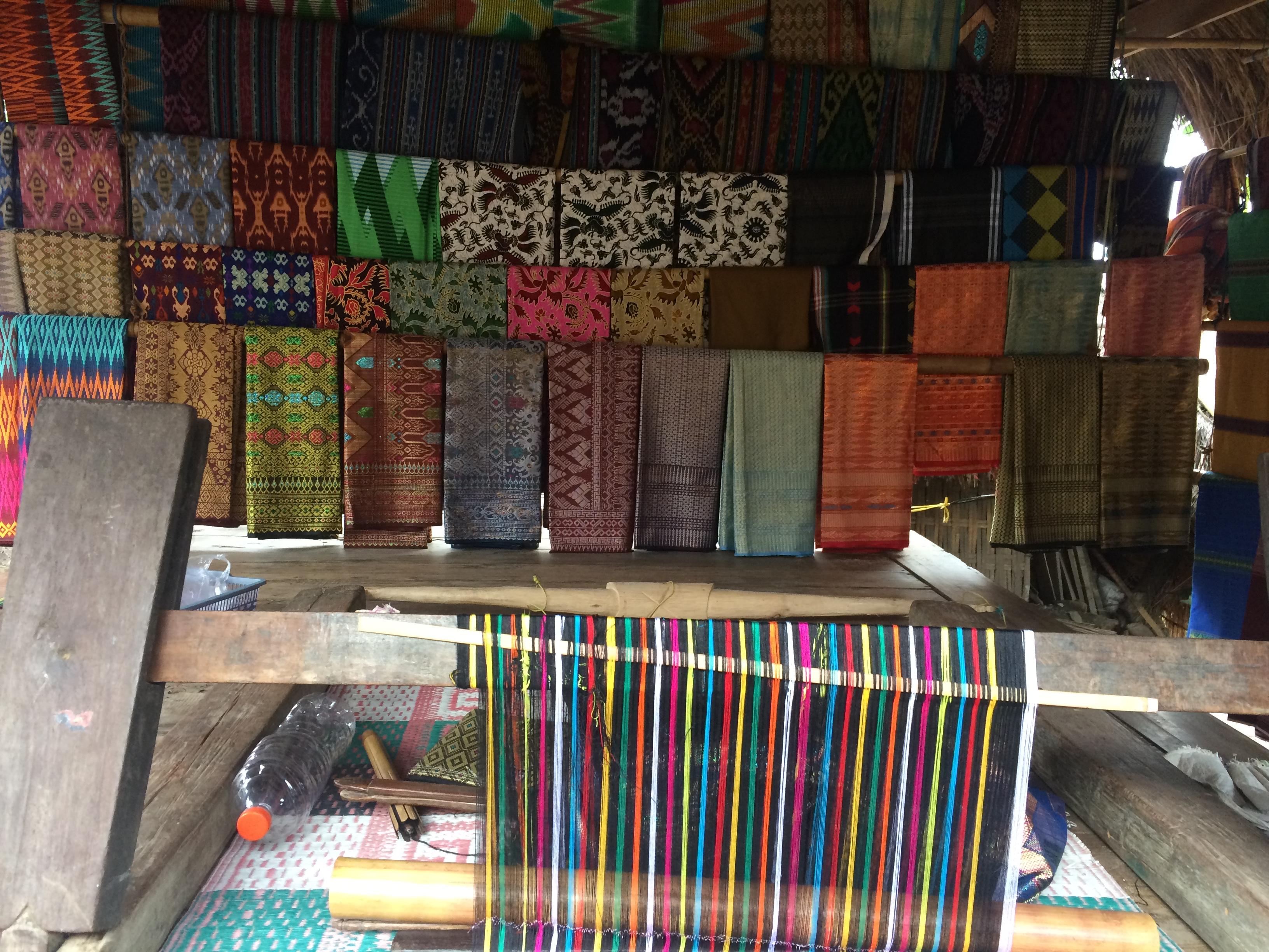 Saris, Village de Sade Lombok, Indonésie