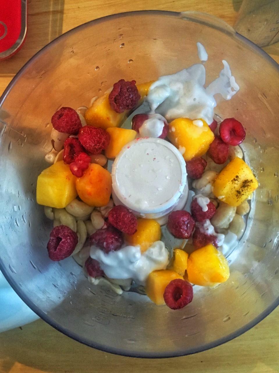 Mousse cheesecake vegan RAW 100% naturel
