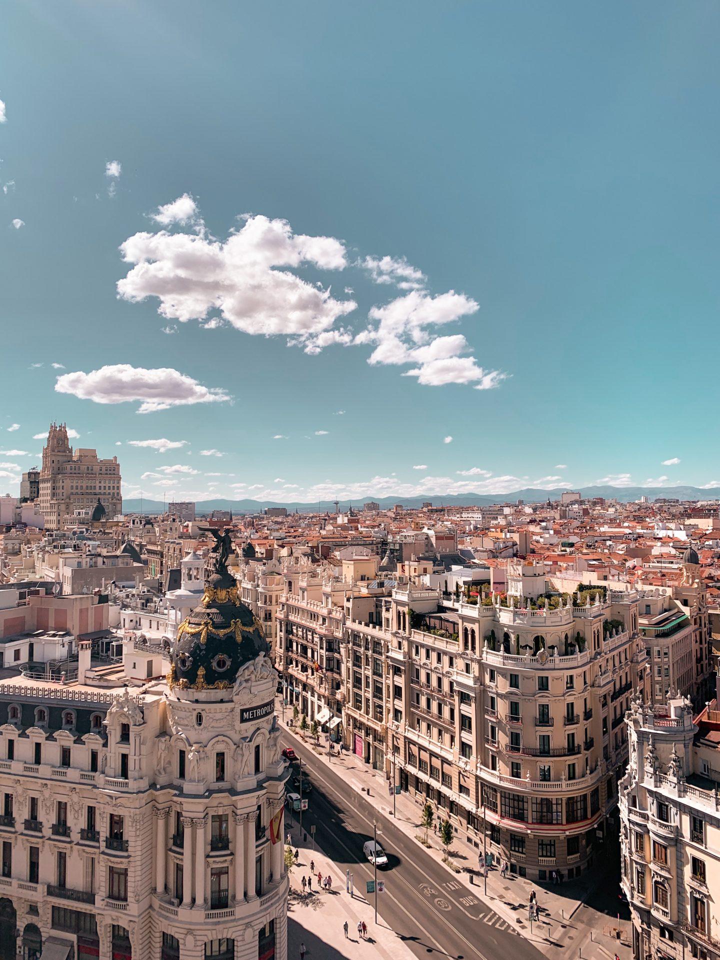 Rooftop Ville Madrid Erasmus
