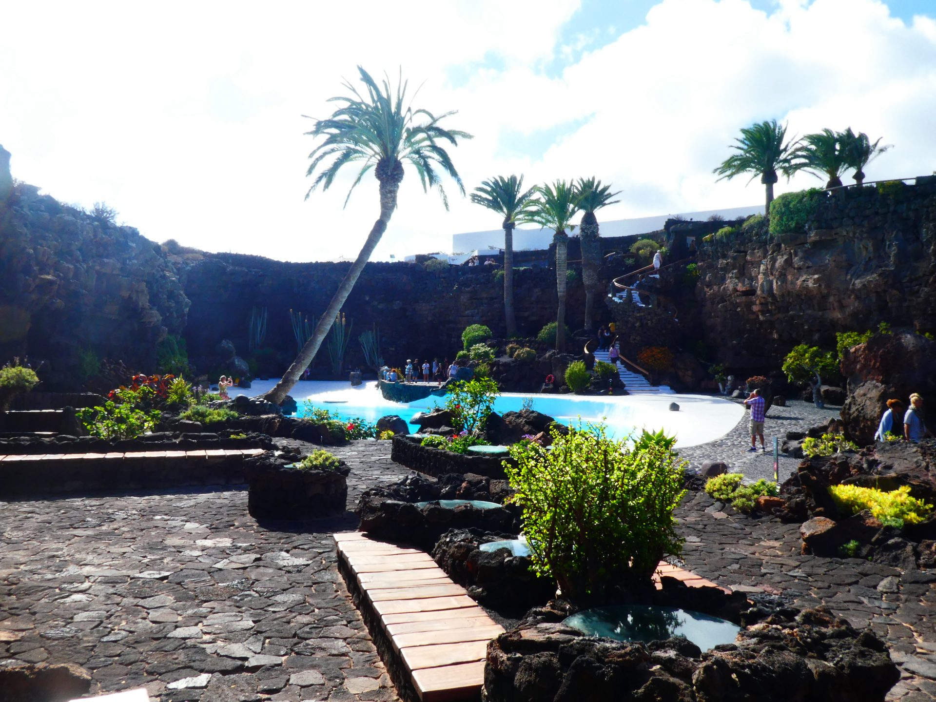 Que faire sur l'île de Lanzarote, Jameos del Agua, piscine
