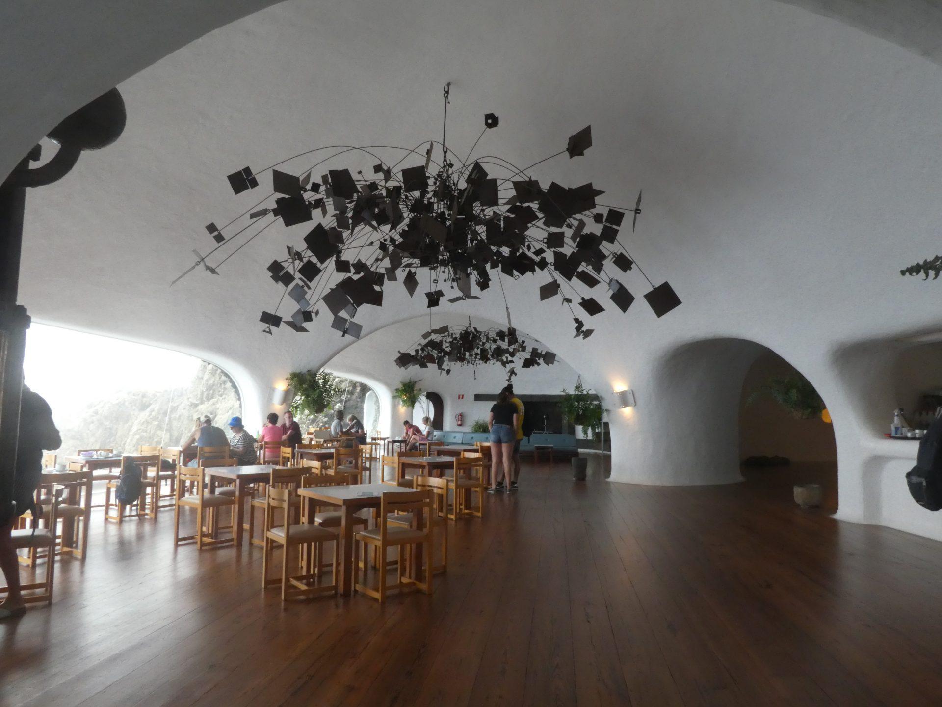 Que faire sur l'île de Lanzarote, Restaurant El Mirador del Rio