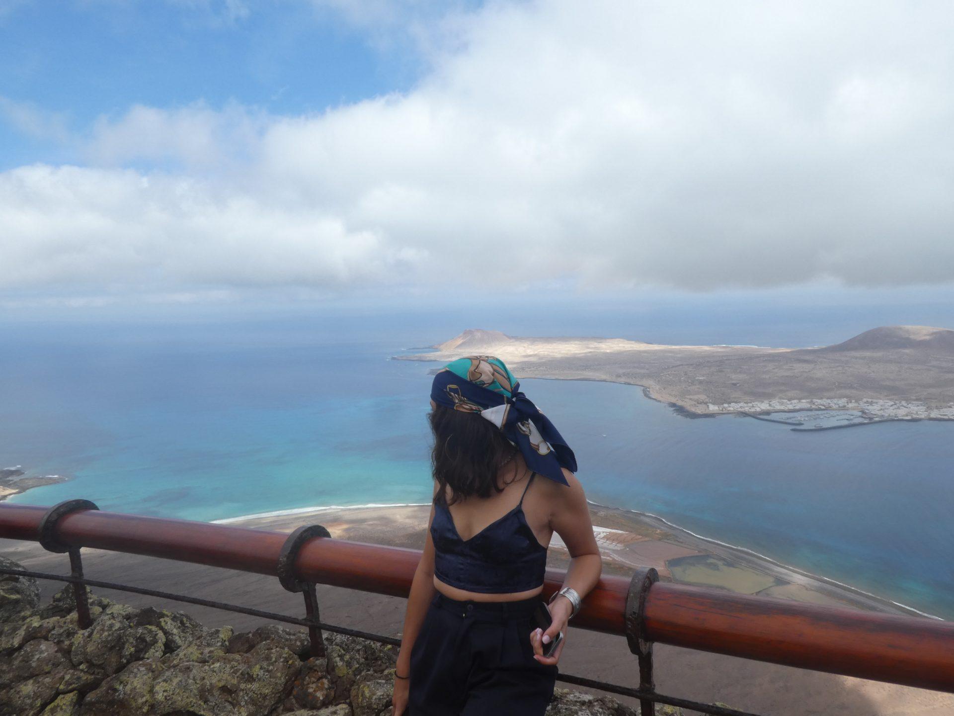 Que faire sur l'île de Lanzarote, vue sur l'île de la Graciosa, El Mirador del Rio