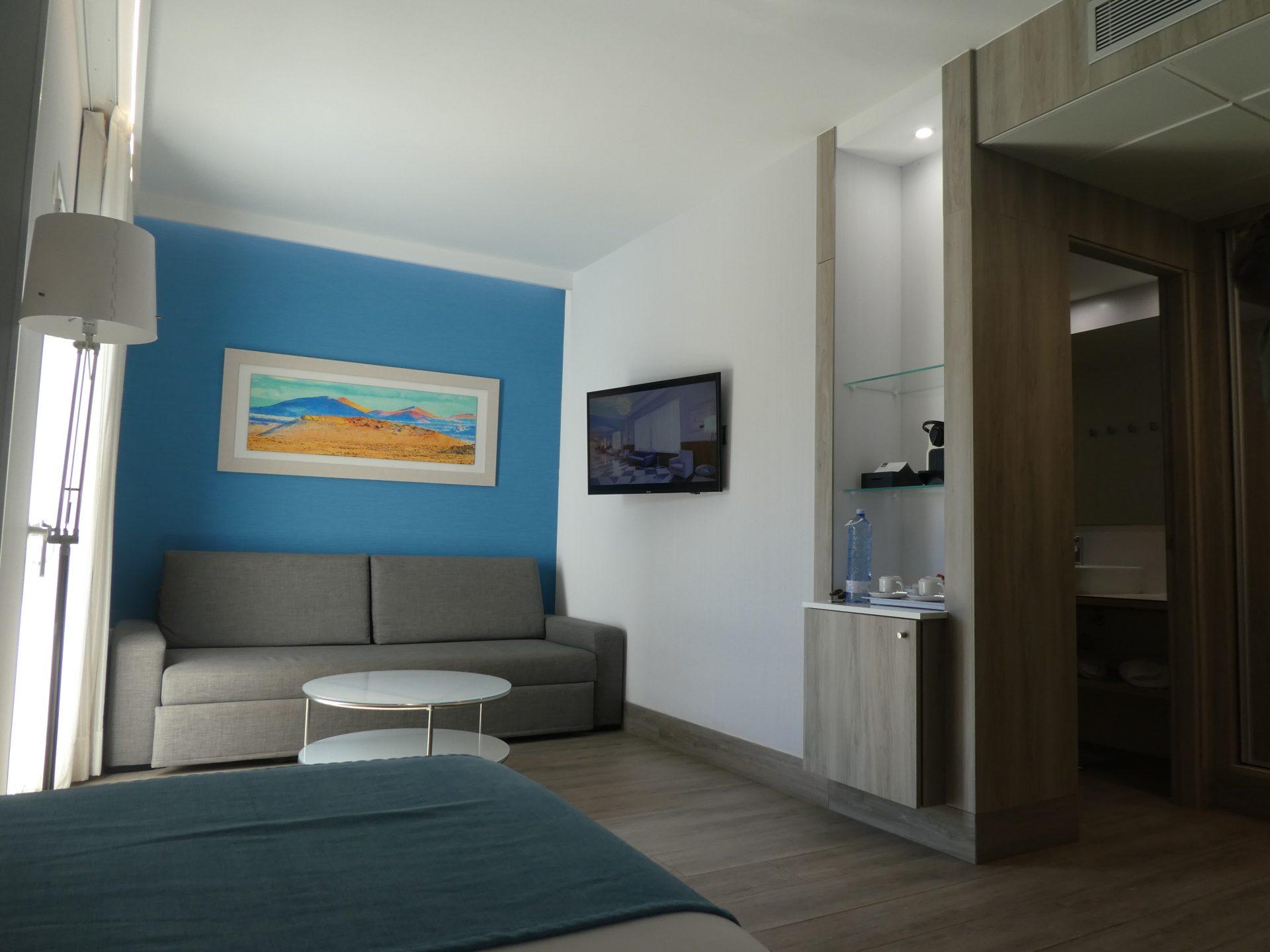 Hôtel Elba Lanzarote, salon suites premium