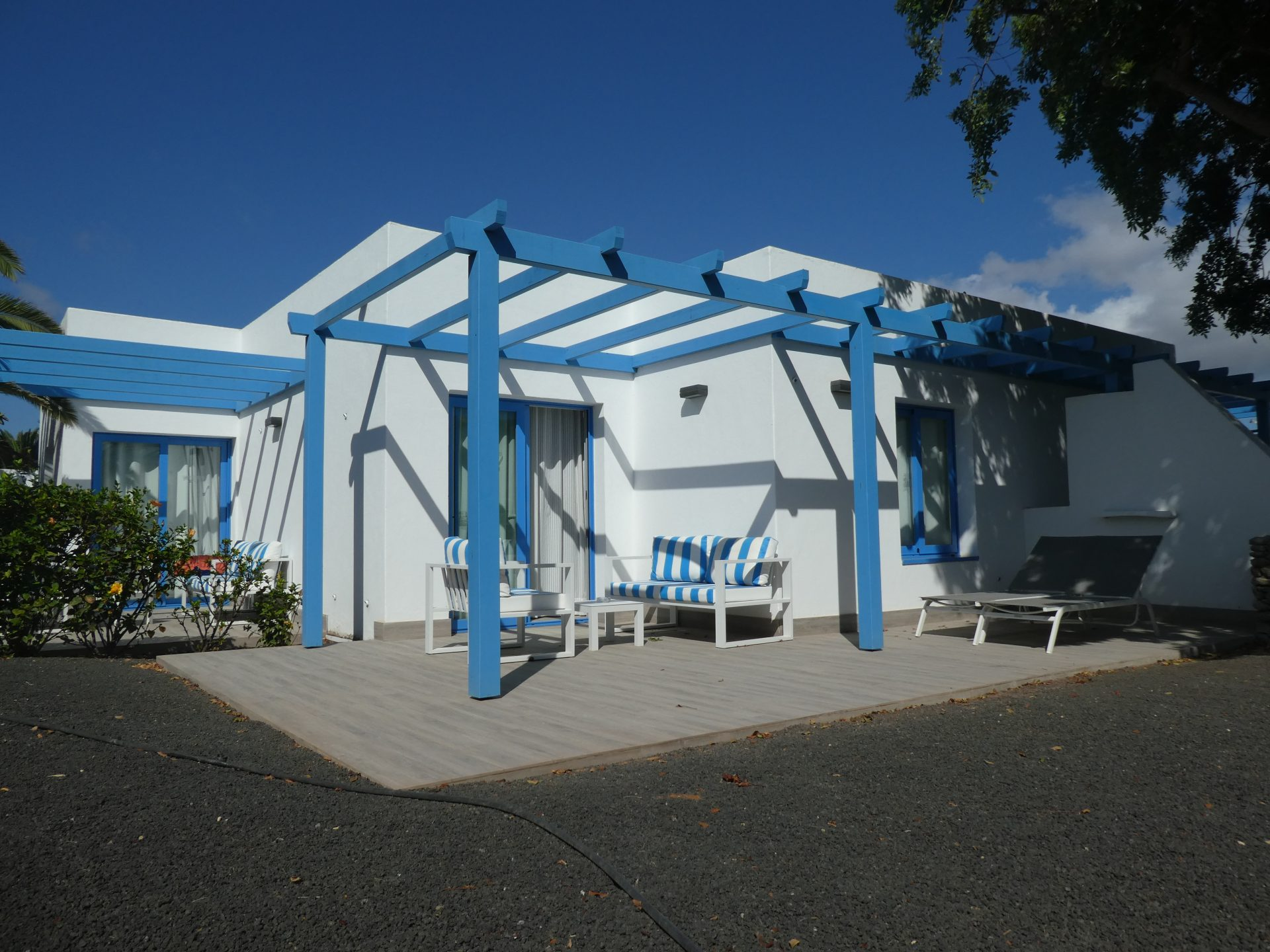 Hôtel Elba Lanzarote, terrasse suites premium