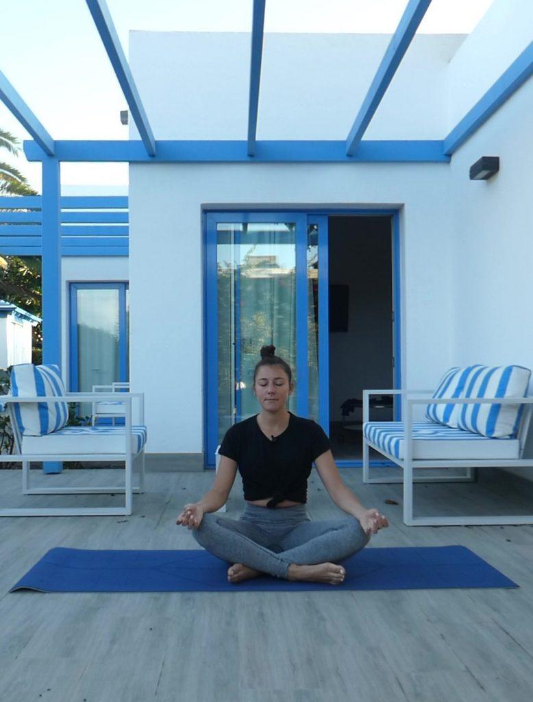 La posture facile, Easy pose, sukasana, yoga