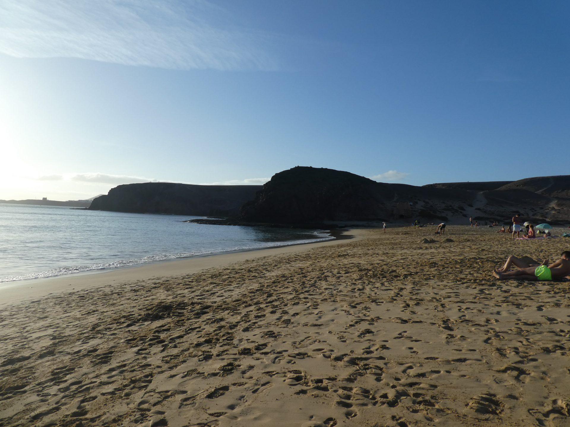 Playa mujeres Lanzarote