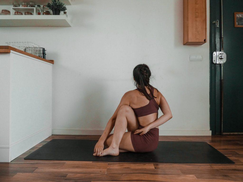 Ardha Matsyendrasana 1 - Option 2