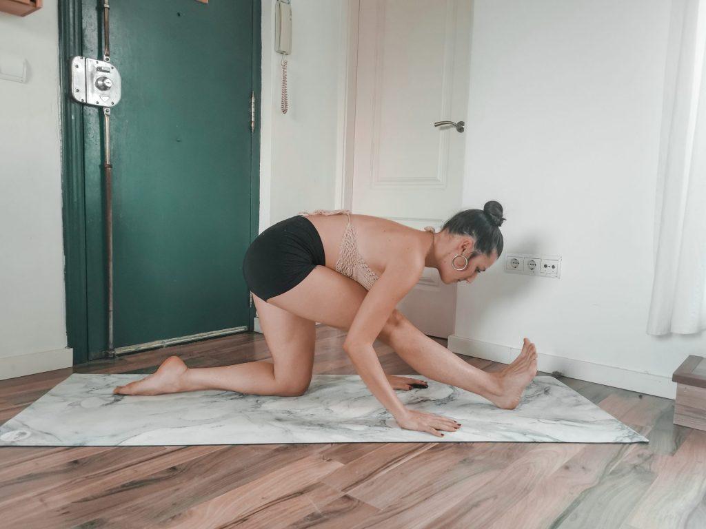 Half gap posture