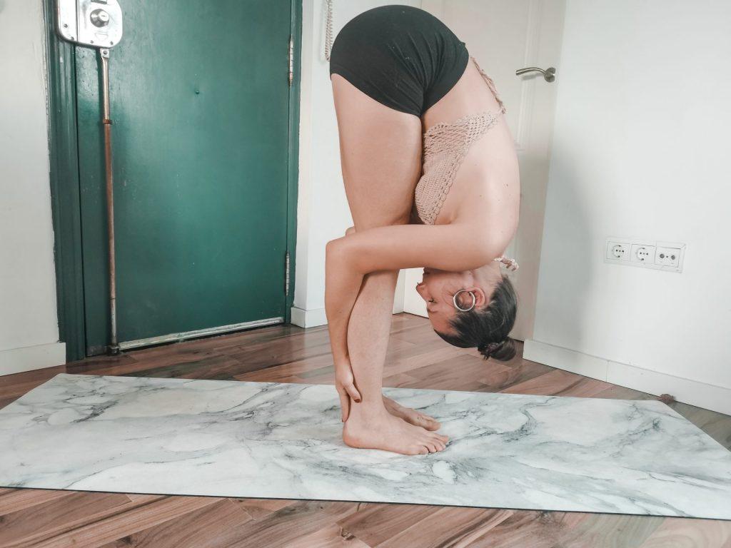 Yoga Pose Standing Paschimottanasana