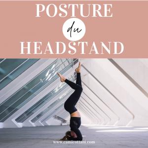 Posture du headstand