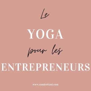 yoga entrepreneur