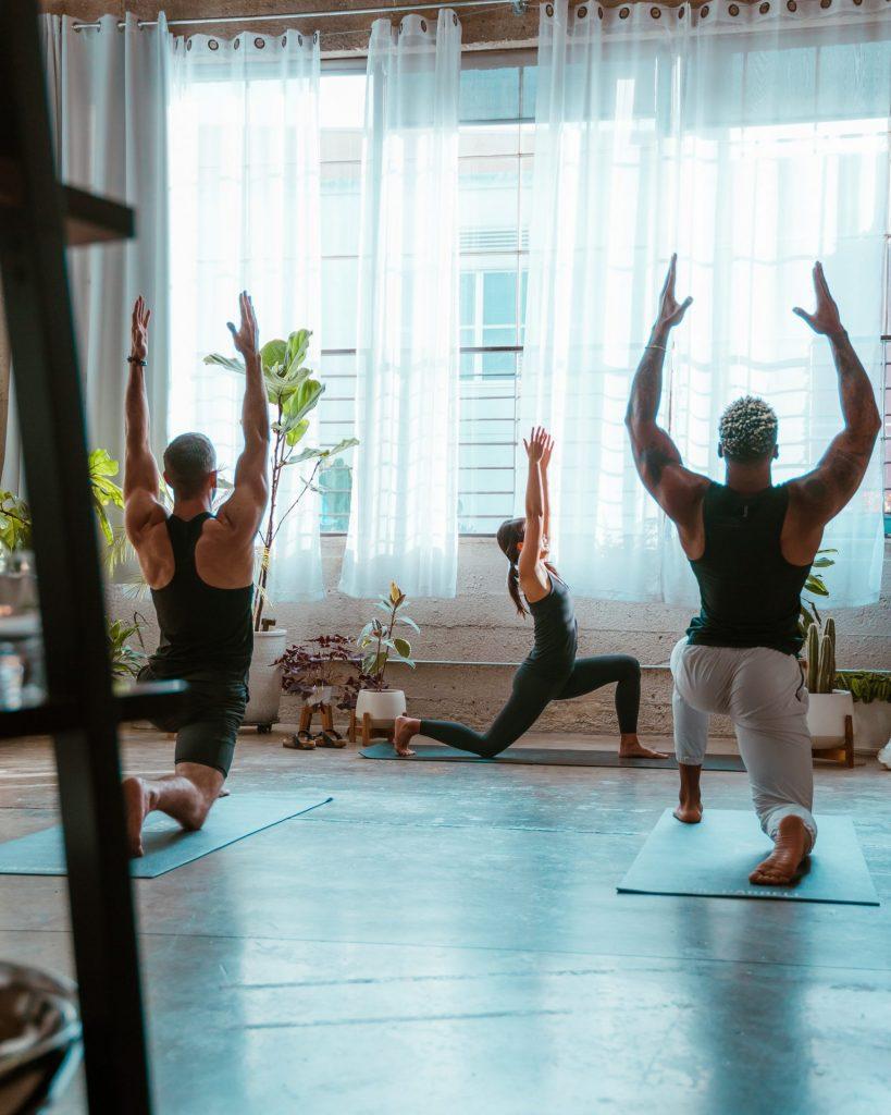 classe de yoga Hatha