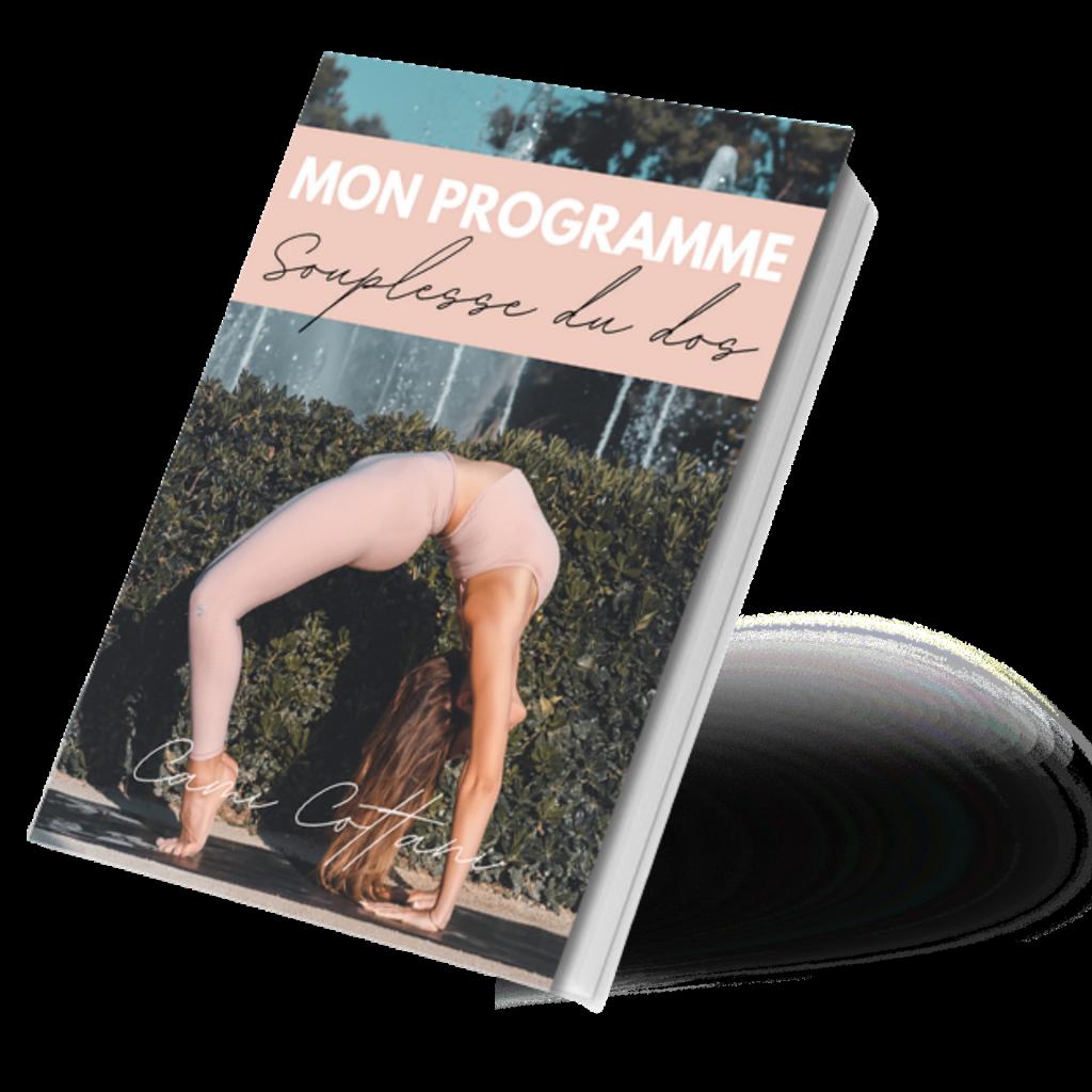 Programme yoga souplesse dos
